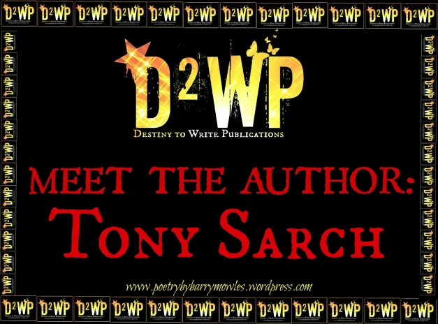 click here to find TONY SARCH on facebook